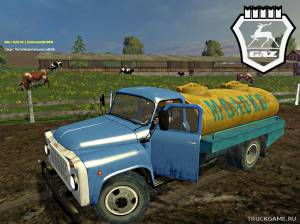 "Мод ""GAZ-53 Milk Water v1.0"" для Farming Simulator 2015"