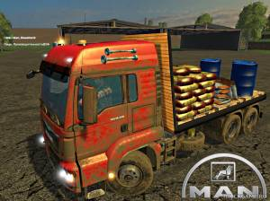 "Мод ""MAN Dispensary v1.0"" для Farming Simulator 2015"