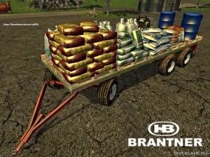 "Мод ""Brantner DPW 18000 Service v1.0"" для Farming Simulator 2015"