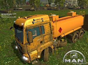 "Мод ""MAN Diesel Tank v1.0"" для Farming Simulator 2015"