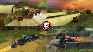 "Мод ""Fräse V 1.0"" для Farming Simulator 2015"
