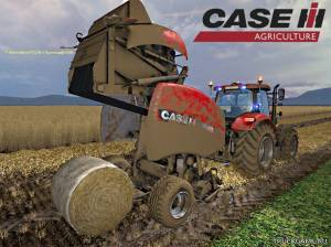 "Мод ""Case IH RB 465 v1.0"" для Farming Simulator 2015"