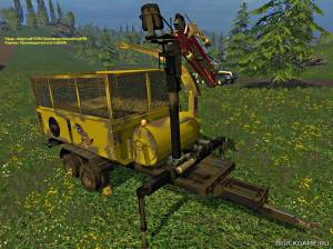 "Мод ""Crasher v2.1"" для Farming Simulator 2015"