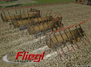 "Мод ""Fliegl Timber Kipper v2.0"" для Farming Simulator 2015"