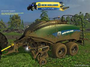 "Мод ""New Holland BB 1290 Multicolor v1.0"" для Farming Simulator 2015"
