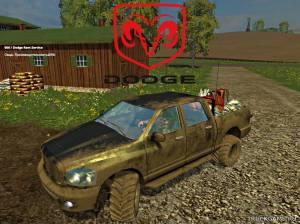 "Мод ""Dodge Ram Service v1.1"" для Farming Simulator 2015"