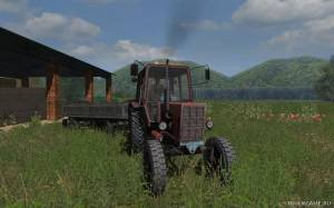 "Мод ""МТЗ-80"" для Farming Simulator 2013"