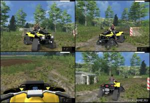 "Мод ""CanAM 1000X Apache Track"" для Farming Simulator 2015"
