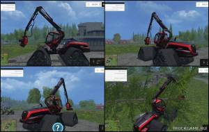 "Мод ""King Timber Quad"" для Farming Simulator 2015"