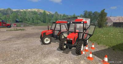 "Мод ""Zetor 5340 FL"" для Farming Simulator 2015"