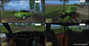 "Мод ""ВАЗ-2110 (ЛАДА 110)"" для Farming Simulator 2015"