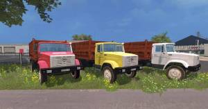 "Мод ""ЗиЛ 4516 v2.0"" для Farming Simulator 2015"