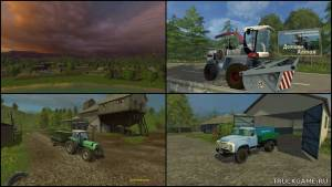 "Мод ""Долины Алтая-2"" для Farming Simulator 2015"