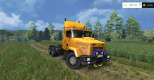 KрАЗ 64431 v2.0 для Farming Simulator 2015