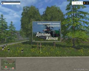 "Мод ""Долины Алтая-2.1"" для Farming Simulator 2015"