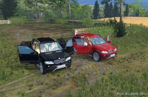 "Мод ""BMW X5 2004"" для Farming Simulator 2015"