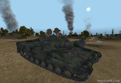 "Мод ""Leopard 2 A4 v1.0"" для Farming Simulator 2015"
