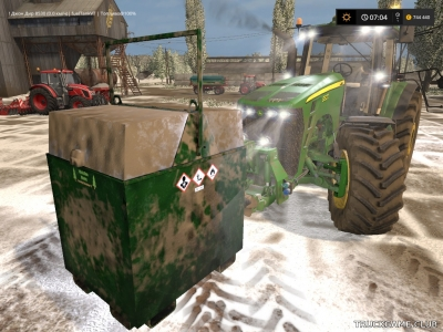 "Мод ""Mobiler Dieseltank 800L v1.1"" для Farming Simulator 2017"