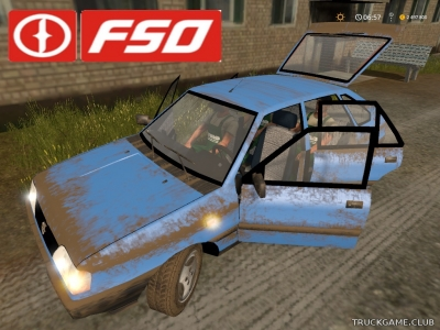 "Мод ""Polonez Caro v1.0"" для Farming Simulator 2017"