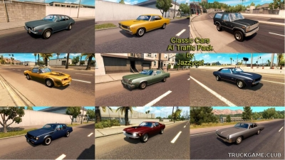 "Мод ""Classic ai traffic pack by Jazzycat v1.3"" для American Truck Simulator"