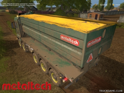 "Мод ""MetalTech Dock Container v1.1"" для Farming Simulator 2017"