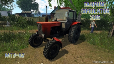 "Мод ""МТЗ-82"" для Farming Simulator 2015"