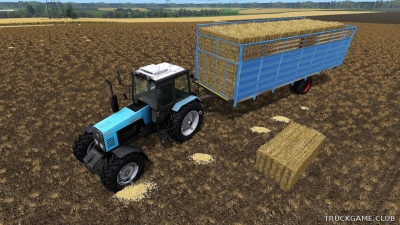 "Мод ""HTS 50.04 UAL"" для Farming Simulator 2017"