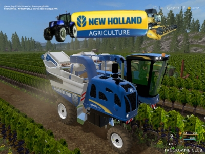 "Мод ""New Holland 9060L v1.0"" для Farming Simulator 2017"