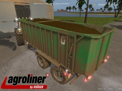 "Мод ""Kroeger Agroliner TAW 20 v1.0"" для Farming Simulator 2017"