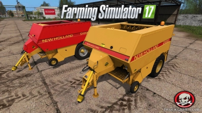 "Мод ""New Holland D1000 v1.0"" для Farming Simulator 2017"