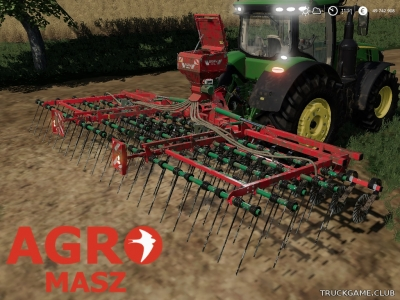 "Мод ""AgroMasz BM75 & SP200"" для Farming Simulator 2019"