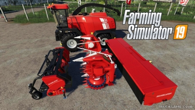 "Мод ""ГОМСЕЛЬМАШ FS 8060 V1.0.0.0"" для Farming Simulator 2019"