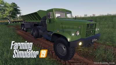"Мод ""КрАЗ-258 V1.0.0.0"" для Farming Simulator 2019"