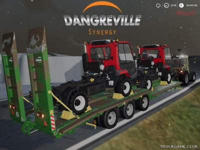 "Мод ""Dangreville PE 32"" для Farming Simulator 2019"