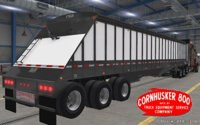 "Мод ""Owned Cornhusker Grain Hopper"" для American Truck Simulator"