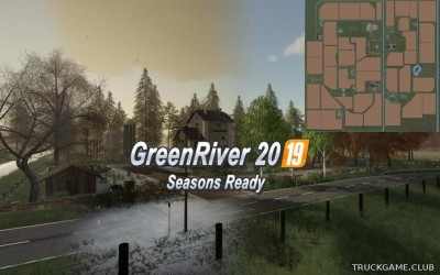 "Мод ""Green River 2019 v2.0.0.1"" для Farming Simulator 2019"